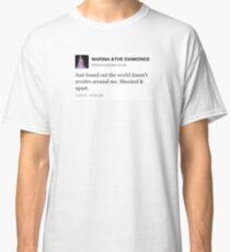 marina and the diamonds tweet  Classic T-Shirt