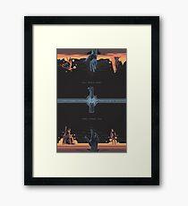 A Balance Framed Print