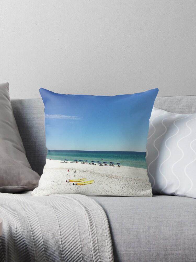 Quot Stunning Destin 30a Beach Scene Florida Quot Throw