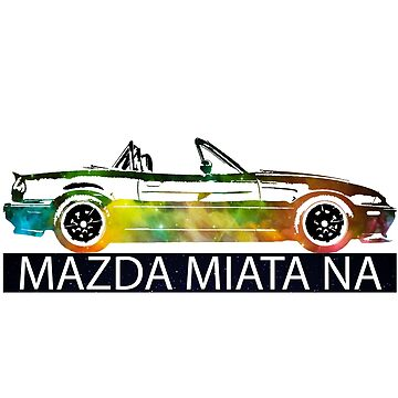 Mazda Miata NA - Space Edition T-Shirt  by mudfleap