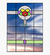 Stained glass vision Photographic Print