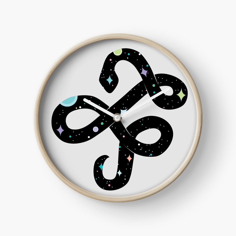 Snake of Chaos Clock