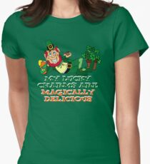 Magically Delicious (clean version) Women's Fitted T-Shirt