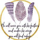 Er wird dich mit seinen Federn bedecken von PraiseQuotes