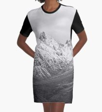 Cuillins of Skye Mountains Scotland Graphic T-Shirt Dress
