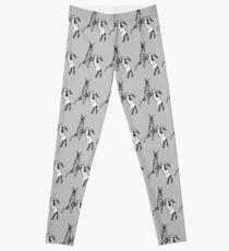 Boxing Hare Grey Leggings