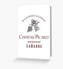 Chateau Picard Vintage - 2267 Greeting Card