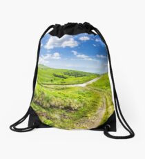path through highland meadows Drawstring Bag