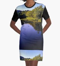 Find Peace Graphic T-Shirt Dress