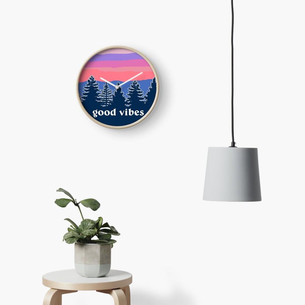 Good Vibes Clock