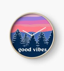Reloj Buenas vibraciones