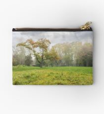 cold fog on in park Studio Pouch