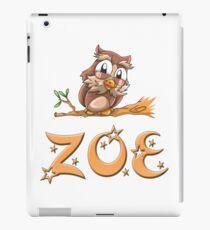 Zoe Owl iPad Case/Skin