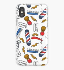 barbershop iPhone Case/Skin