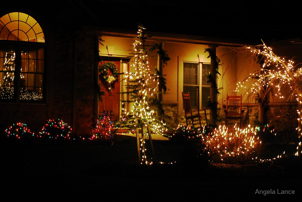 Holiday Lights 4  by Angela Lance