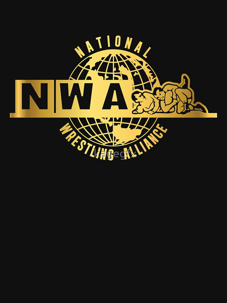 National Wrestling Alliance Logo - GOLD by kagegfx