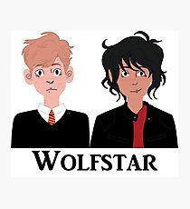 Wolfstar Photographic Print