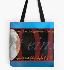 Einstein on Ecology Tote Bag