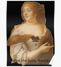 What the living %&#@! Poster