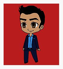 Chibi Lucifer Photographic Print