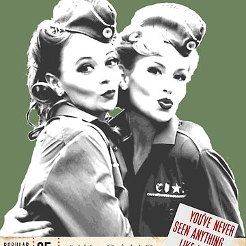 Retro Wartime Pinup We've Come A Long Way Baby! by Charlottesw3b
