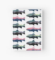 3 Tree line Fish Hardcover Journal