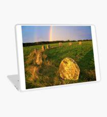 Merry maidens Stone Circle, Cornwall Laptop Skin