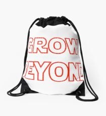 We Are What They Grow Beyond Drawstring Bag