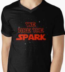 We Are The Spark Men's V-Neck T-Shirt