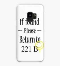 If found 221B Case/Skin for Samsung Galaxy