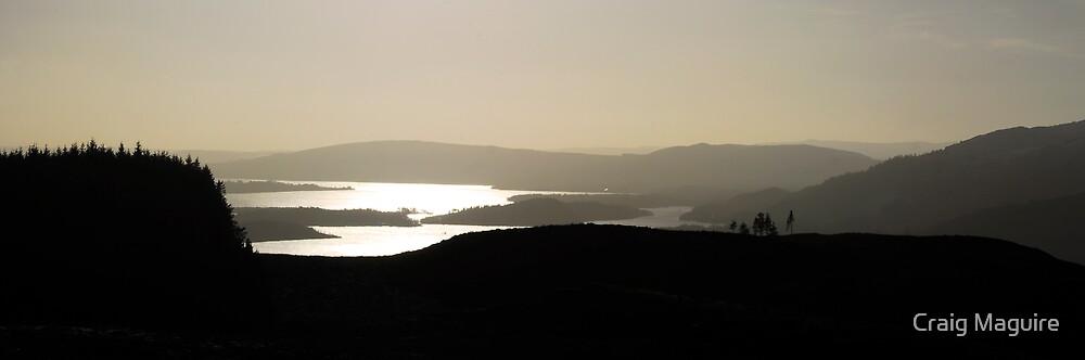 Loch Lomond Panorama by Craig Maguire