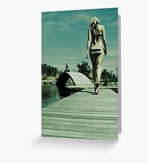 A Thursday Afternoon in April Greeting Card