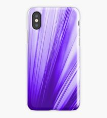 purple optic fiber iPhone Case/Skin