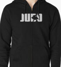Sudadera con capucha y cremallera Judo para Judoka