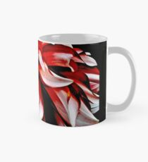 Red And White Dahlia Classic Mug