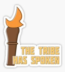 Survivor CBS - The Tribe Has Spoken Sticker