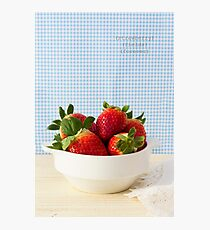 Strawberry fields forever Photographic Print