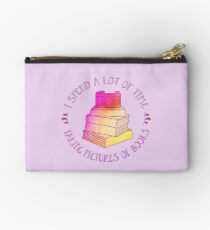 Bookstagram Quotes Studio Pouch