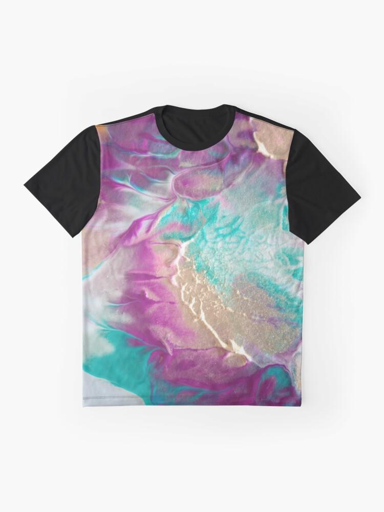 Alternate view of Aurora Borealis Graphic T-Shirt