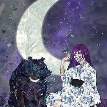 Tsukina Waguma by f-rizzato-art