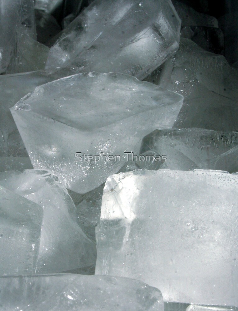 Ice Cubes by Stephen Thomas