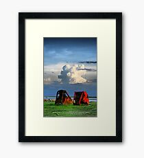 Federal Offense Framed Print