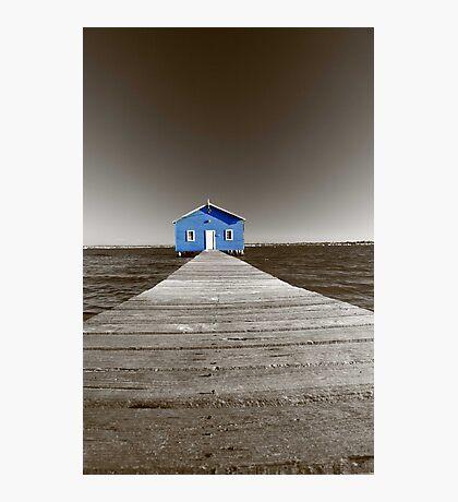 Crawley Edge Boatshed  Photographic Print