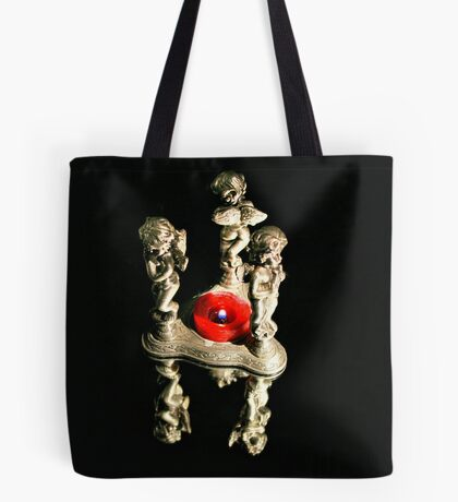 3 Angels Of Light Tote Bag
