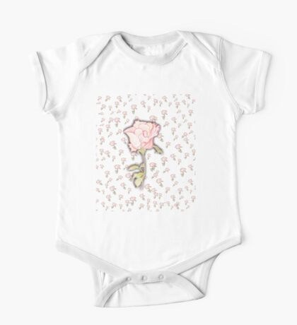 Baby Rose Sketch Kids Clothes