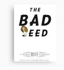 Retro Movie The Bad Seed Canvas Print