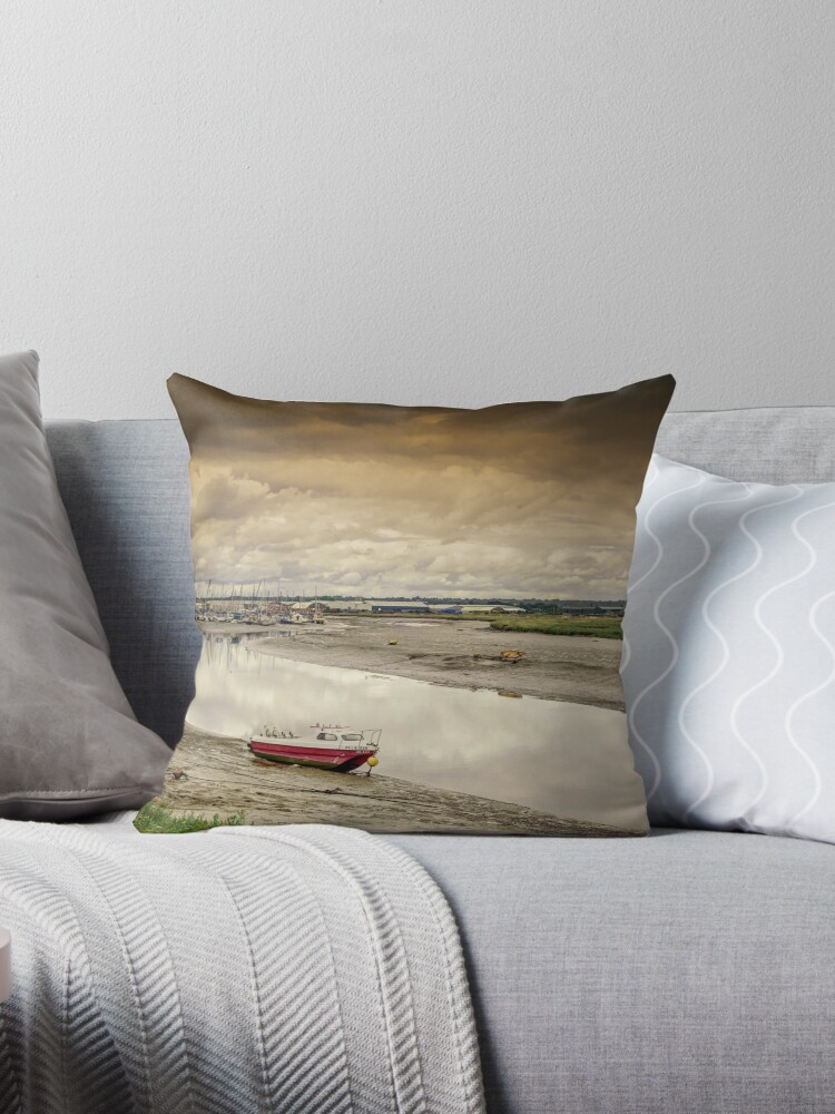 Low Tide of Maldon Estuary by NeonAbstracts