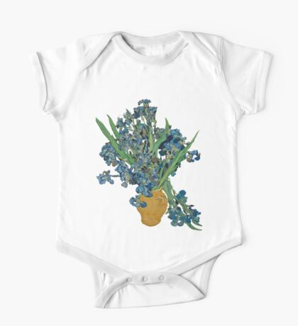 Van Gogh Iris Grunge Kids Clothes