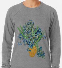 Van Gogh Iris Grunge Lightweight Sweatshirt