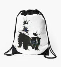 Skunk - Ink Blot Drawstring Bag